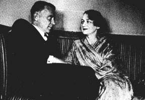 Bulgakoff and Elena Shilovskaia
